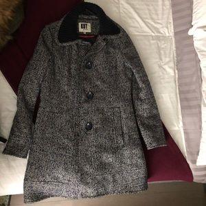 Super cute coat. L but fits like M.